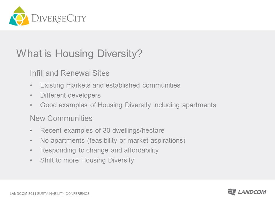 What is Housing Diversity