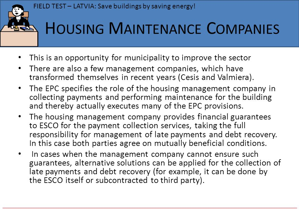 Housing Maintenance Companies