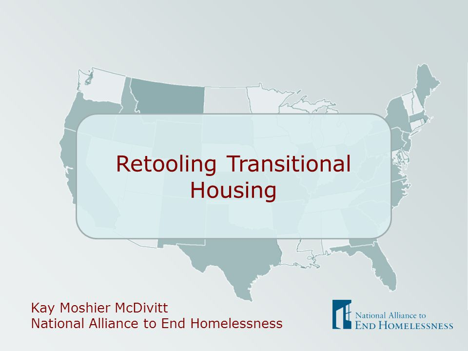 Retooling Transitional Housing
