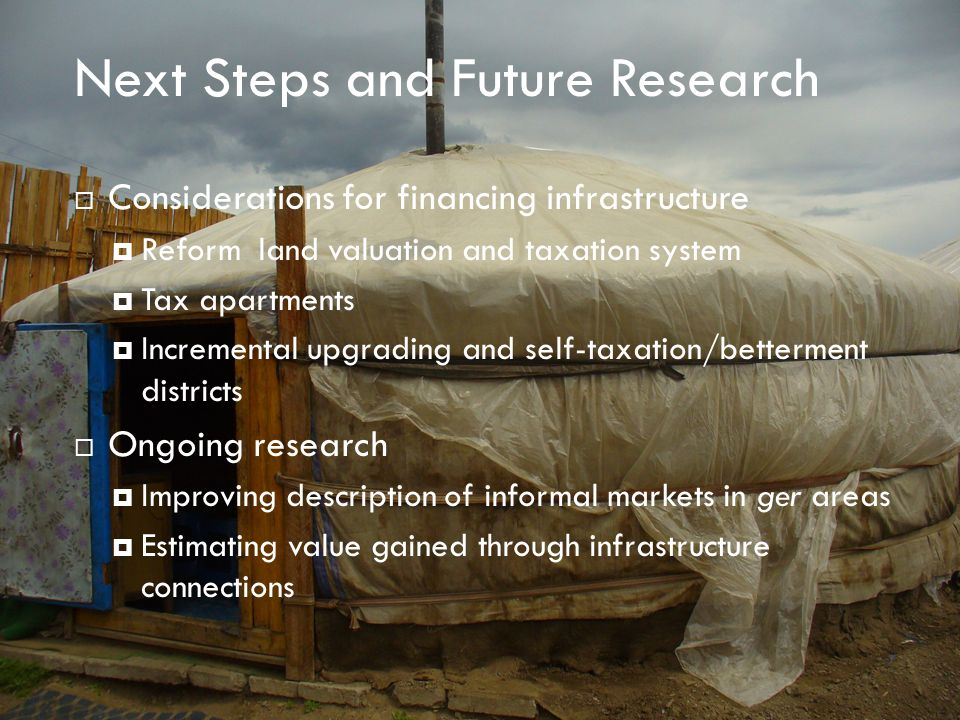 Next Steps and Future Research