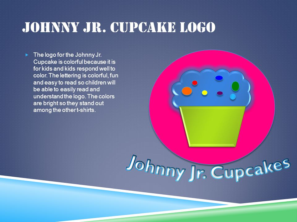 Johnny Jr. Cupcakes Johnny Jr. Cupcake Logo