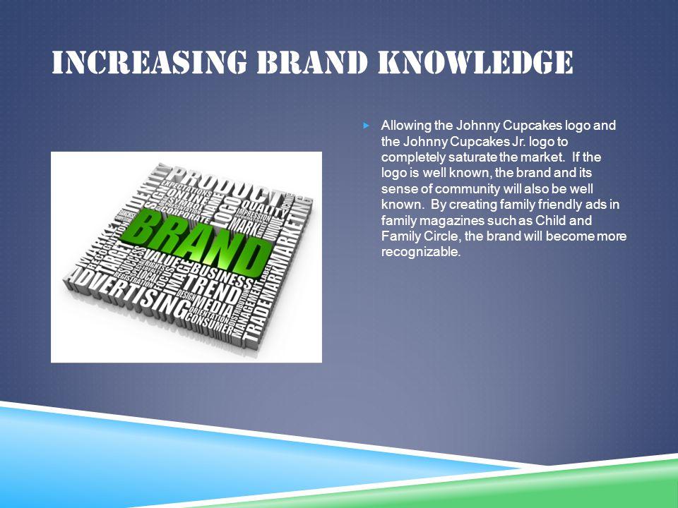 Increasing brand knowledge