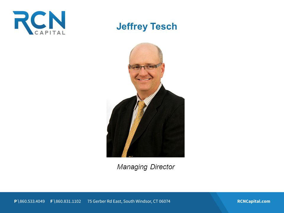 Jeffrey Tesch Managing Director