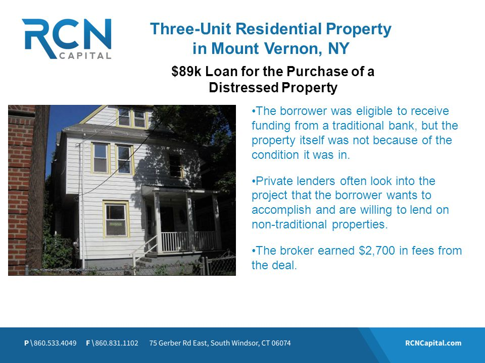 Three-Unit Residential Property in Mount Vernon, NY