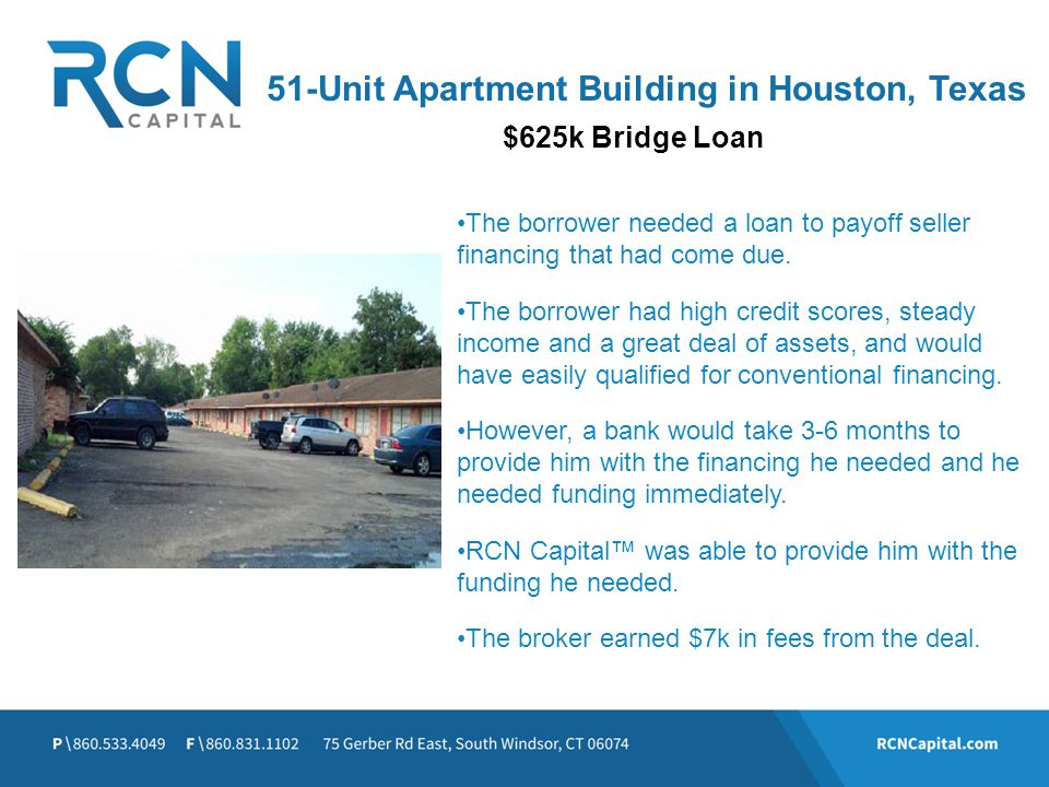 51-Unit Apartment Building in Houston, Texas