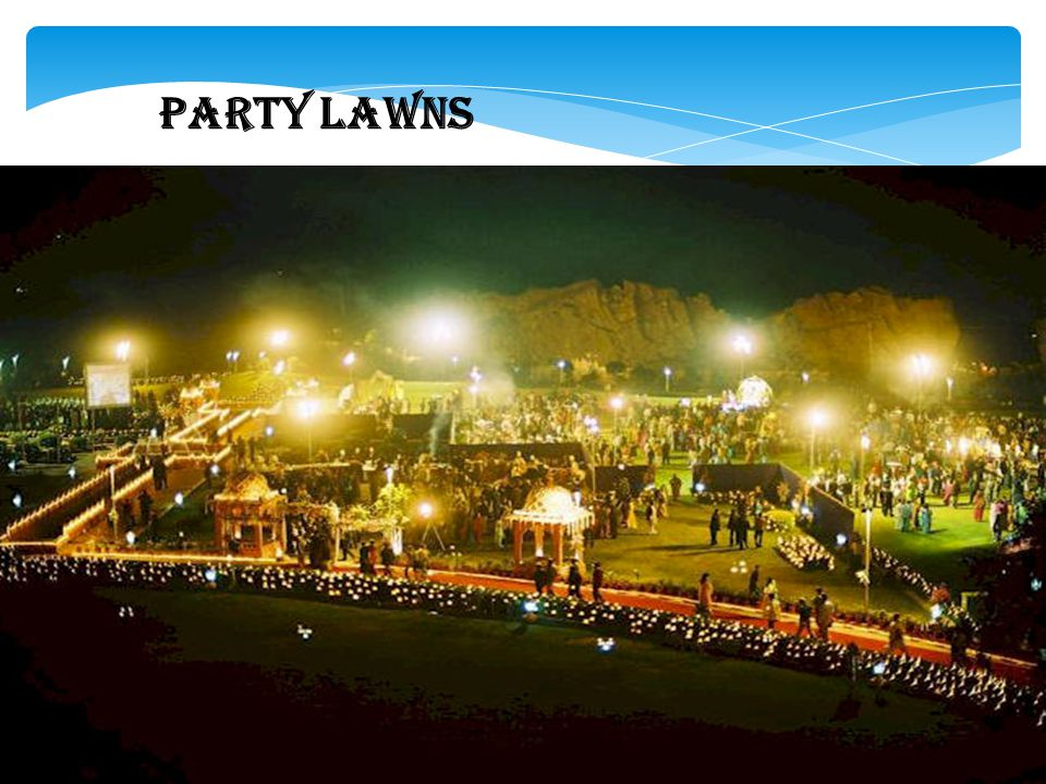 PARTY LAWNS