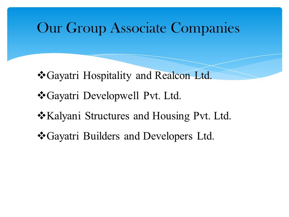 Our Group Associate Companies