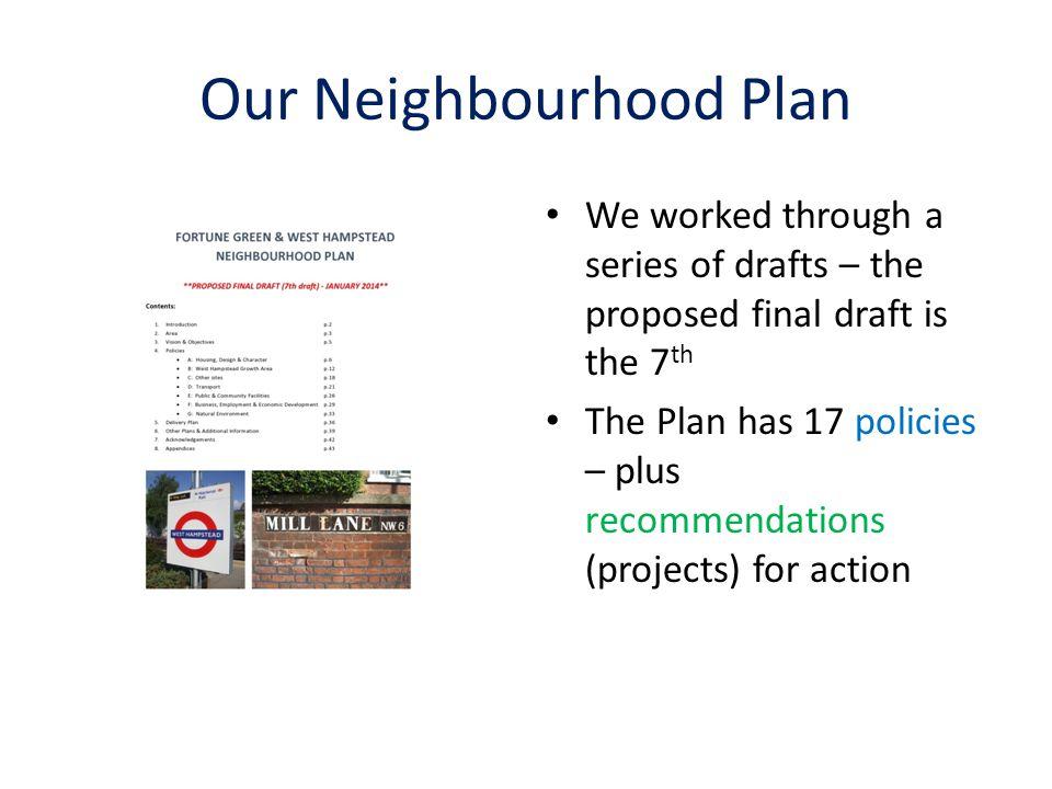 Our Neighbourhood Plan
