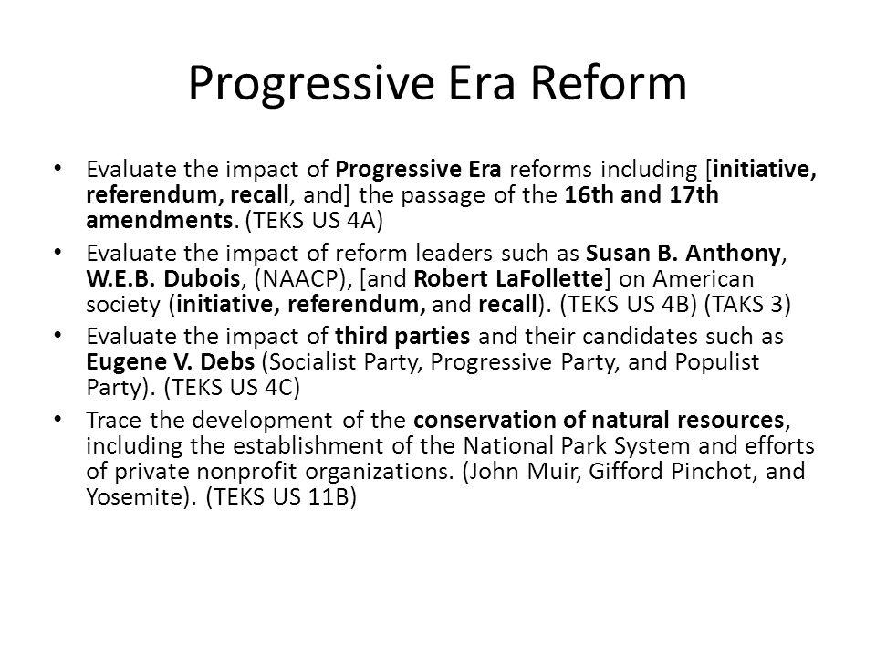 Recall Election Progressive Era The Progressive Moveme...
