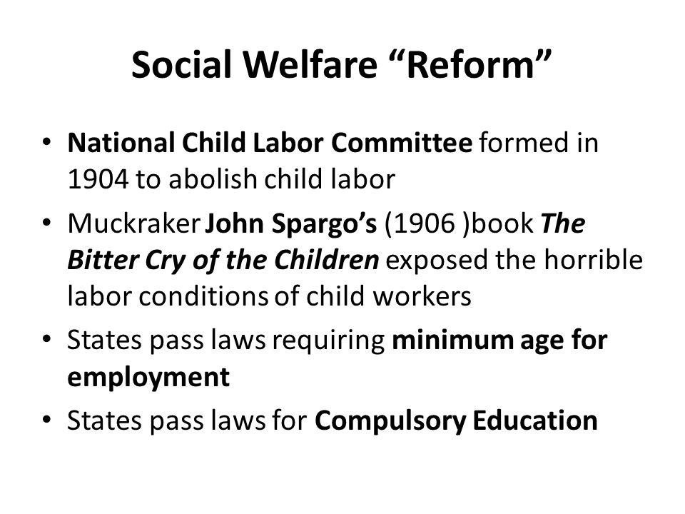 Social Welfare Reform