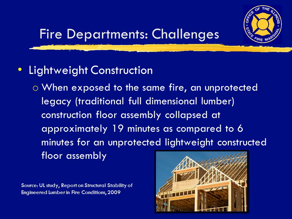 Fire Departments: Challenges