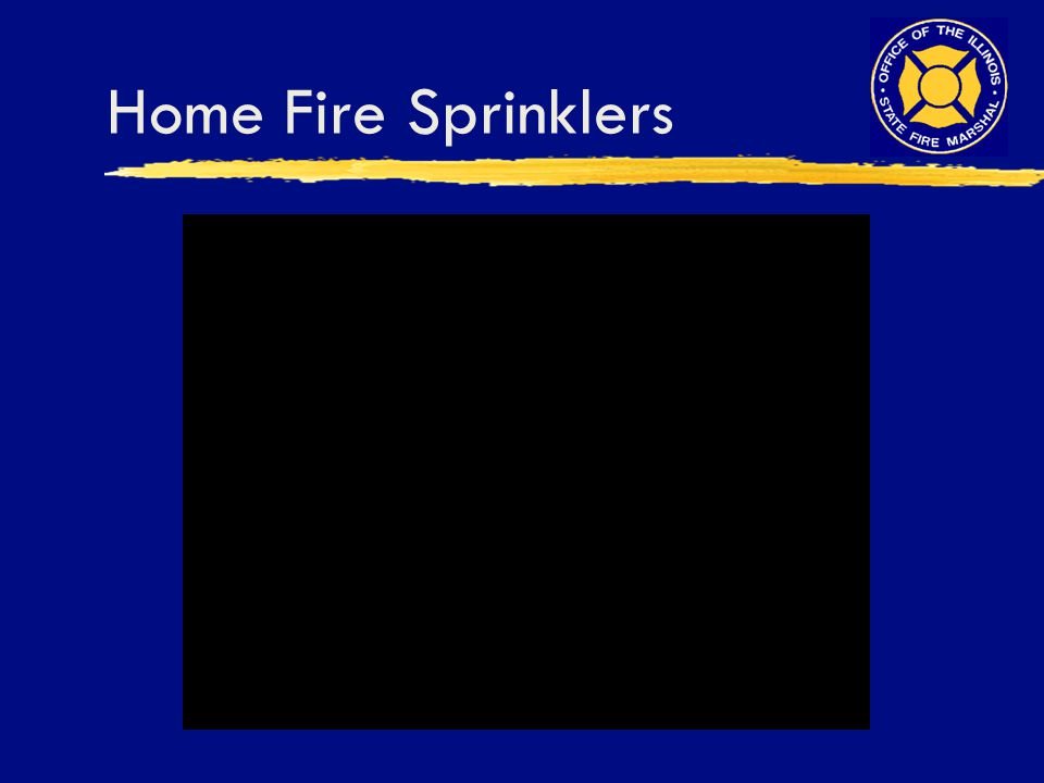 Home Fire Sprinklers