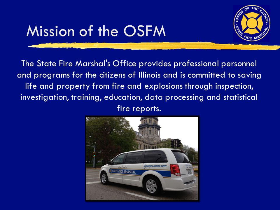 Mission of the OSFM