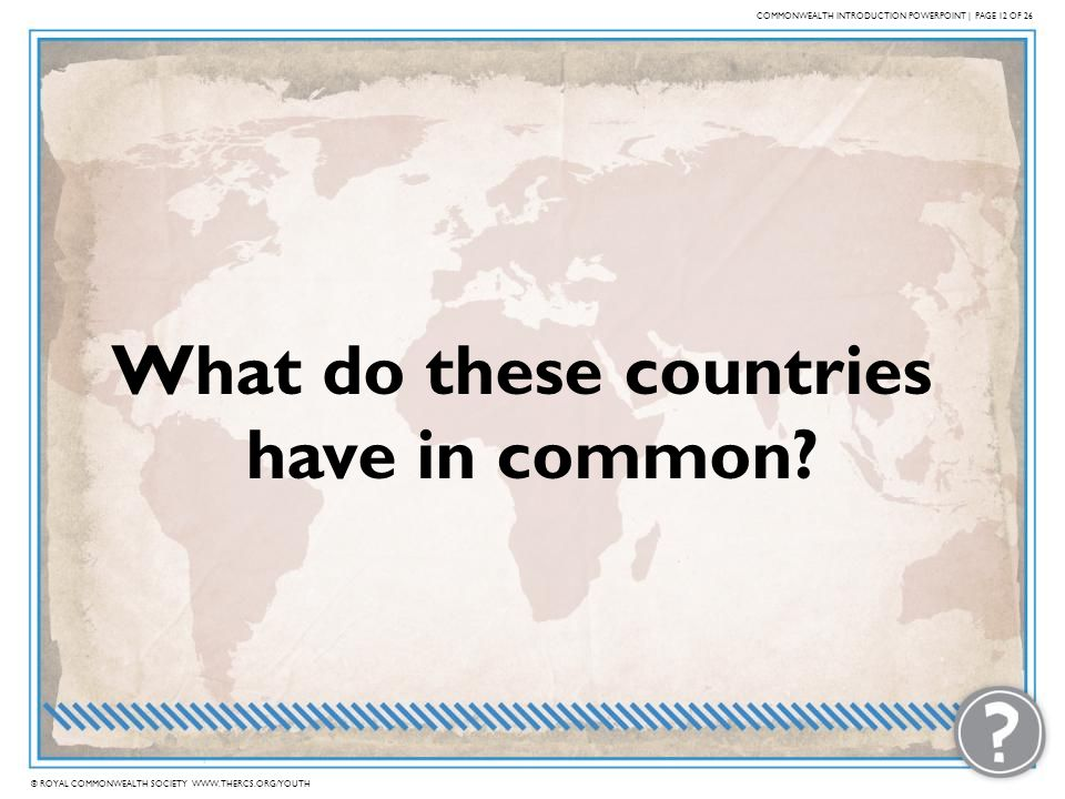 What do these countries