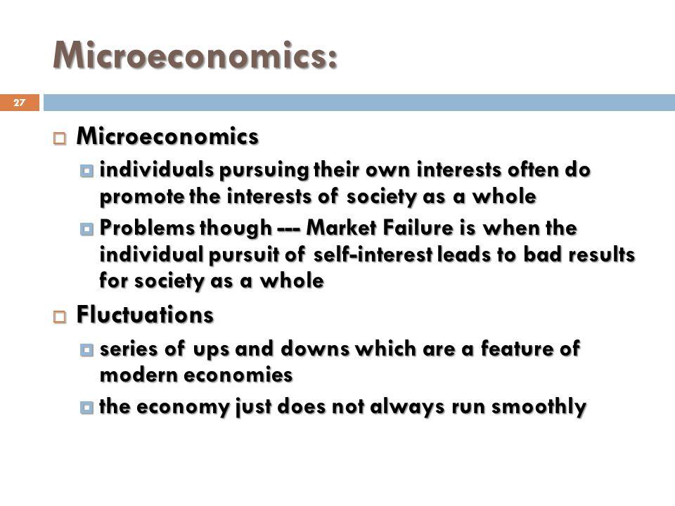 Microeconomics: Microeconomics Fluctuations