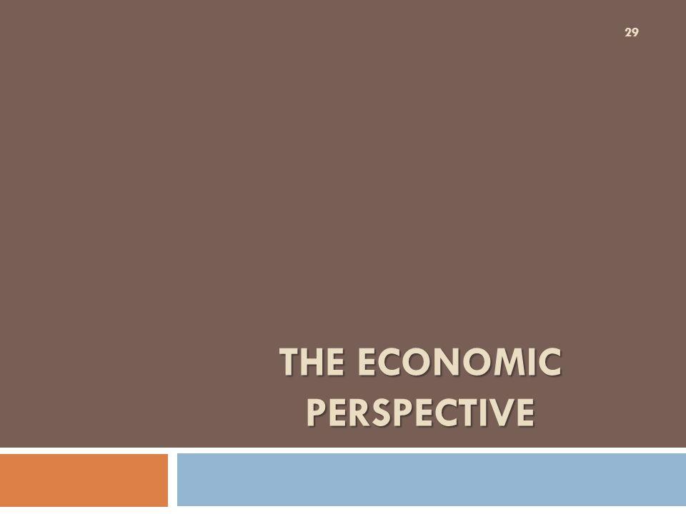 The Economic Perspective