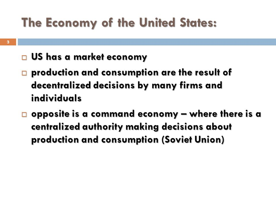 The Economy of the United States: