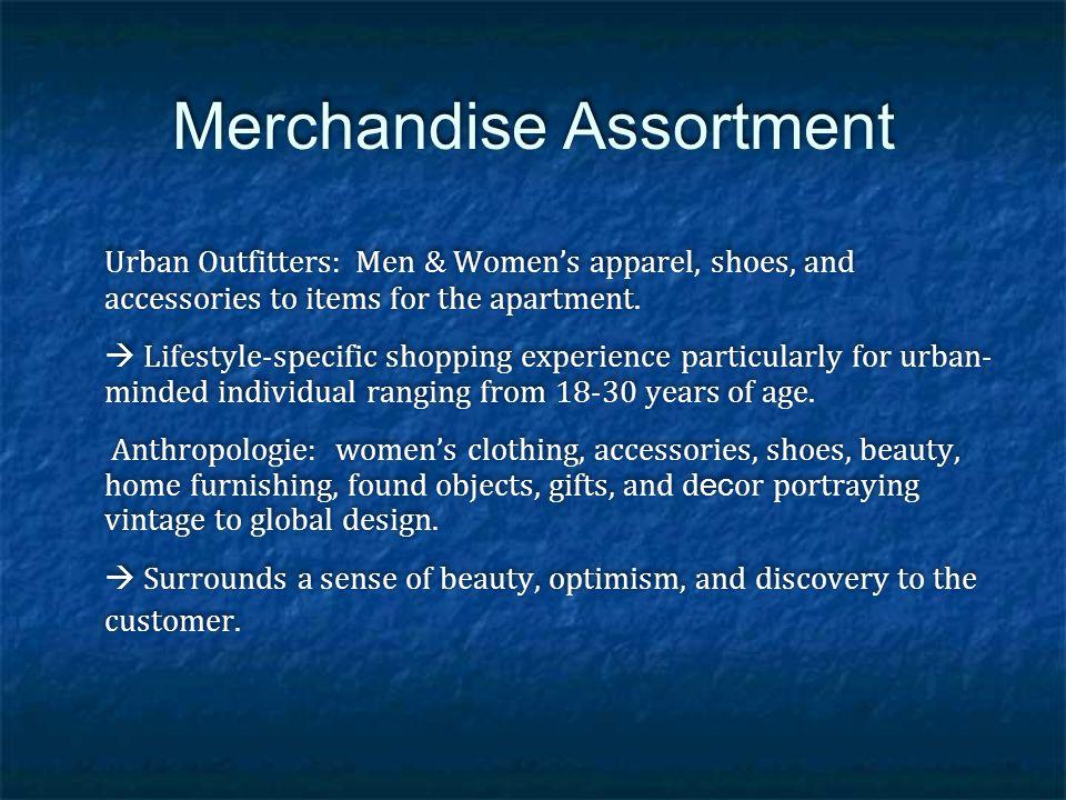 Merchandise Assortment