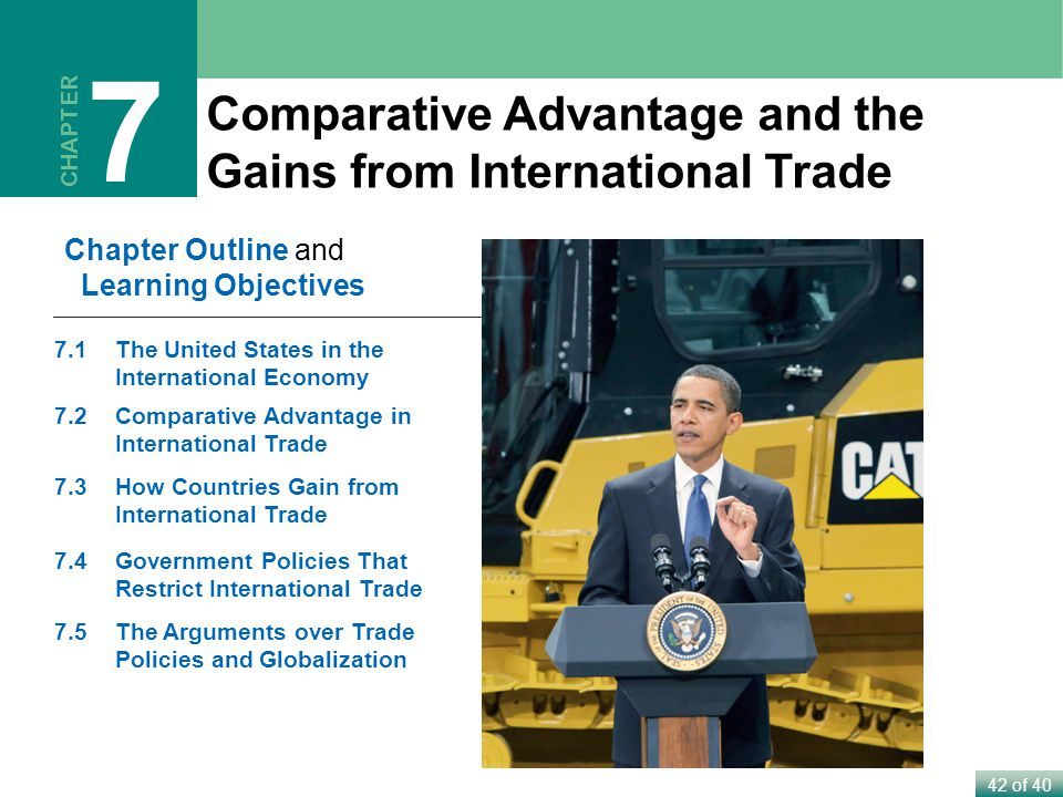 7 Comparative Advantage and the Gains from International Trade