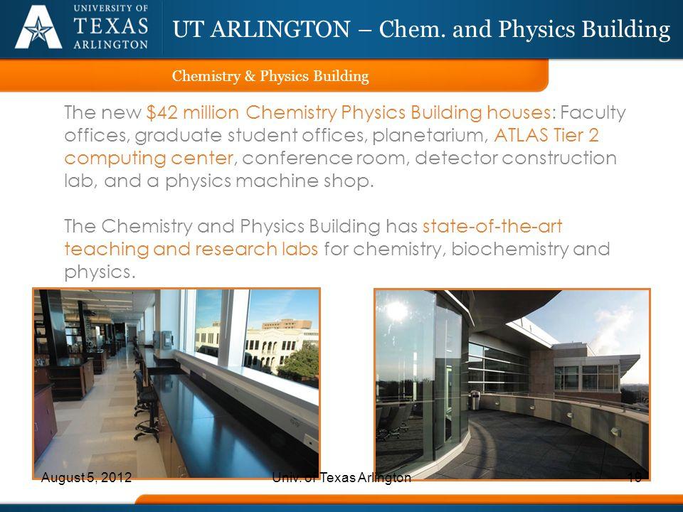UT ARLINGTON – Chem. and Physics Building