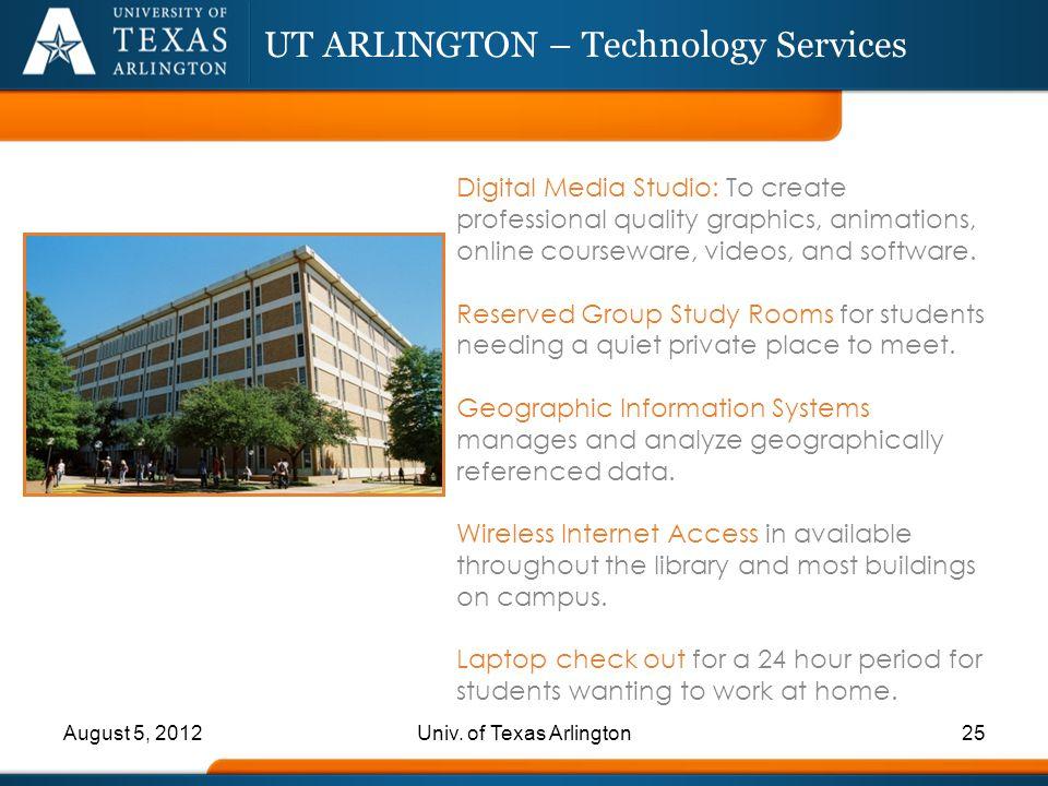 UT ARLINGTON – Technology Services