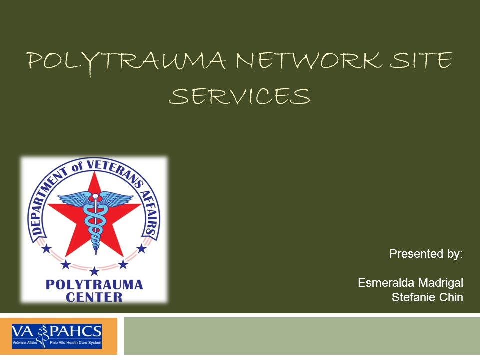 Polytrauma Network Site Services