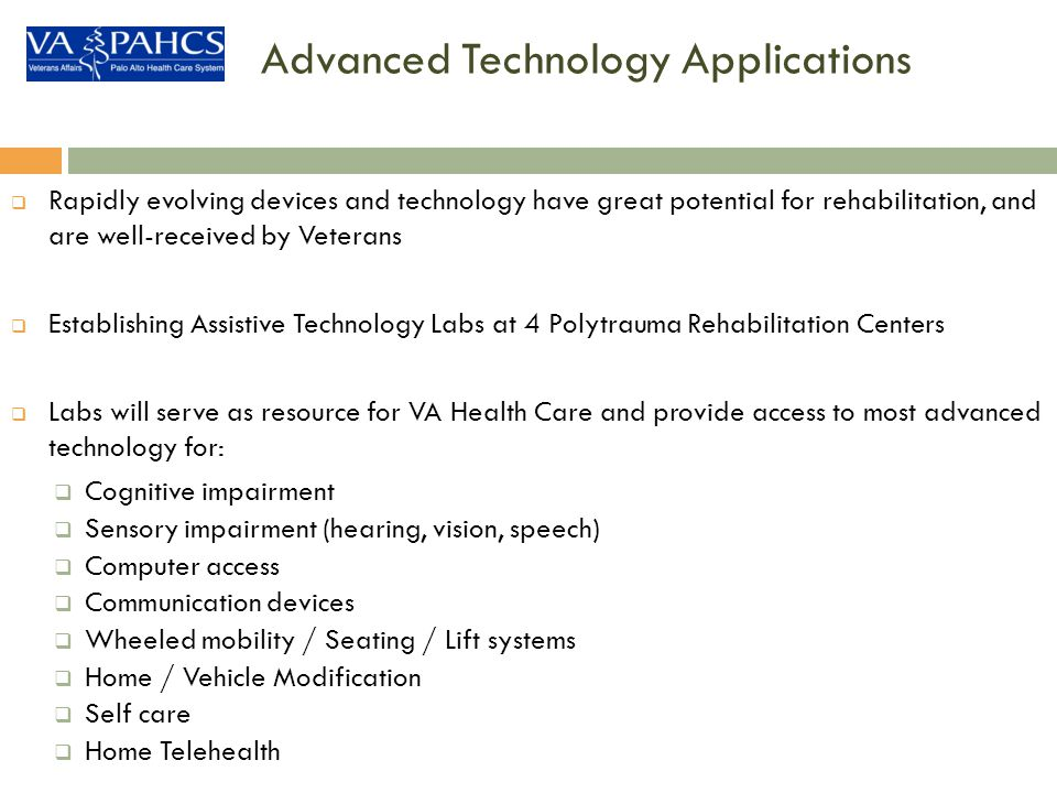 Advanced Technology Applications