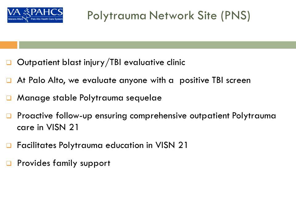 Polytrauma Network Site (PNS)