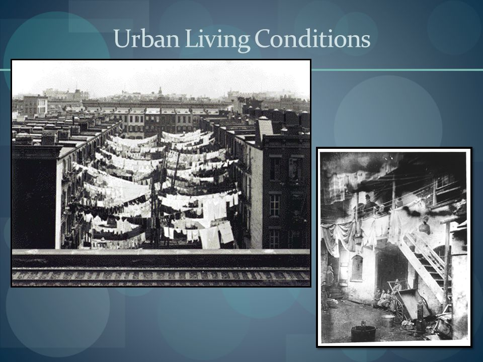 Urban Living Conditions