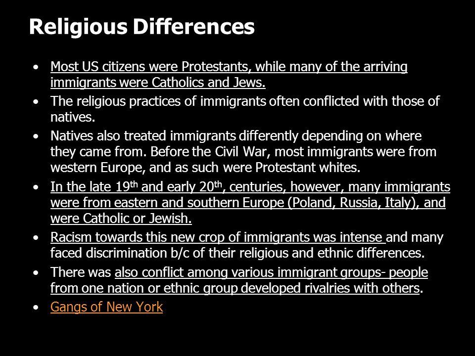 Religious Differences