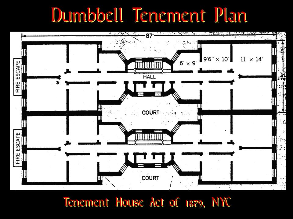 Dumbbell Tenement Plan