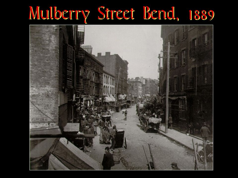 Mulberry Street Bend, 1889