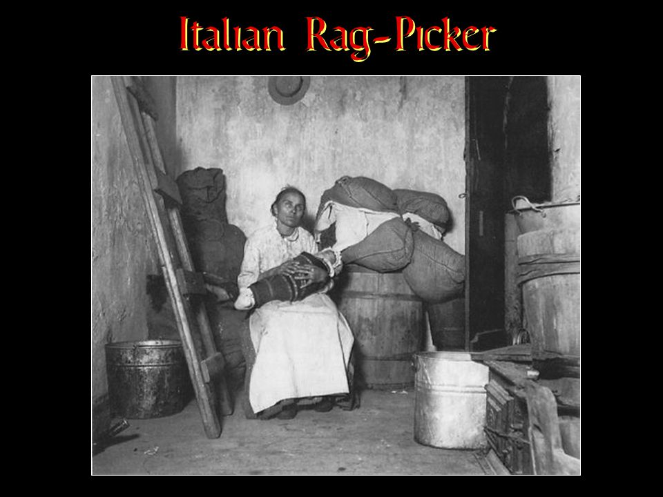Italian Rag-Picker