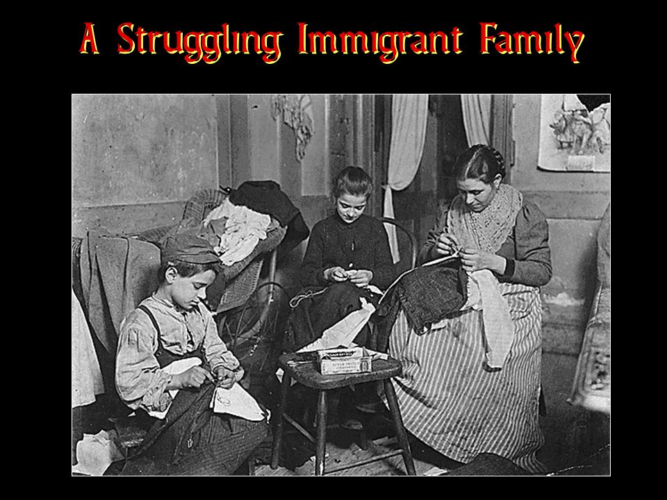 A Struggling Immigrant Family