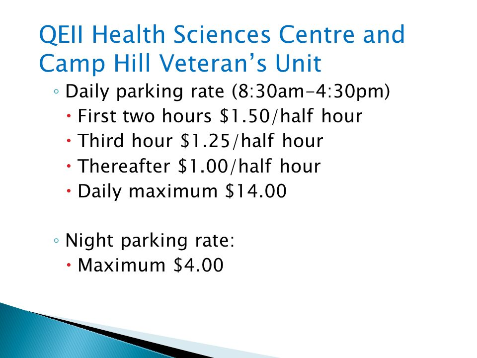 QEII Health Sciences Centre and Camp Hill Veteran's Unit