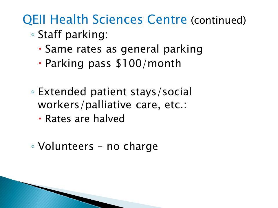 QEII Health Sciences Centre (continued)