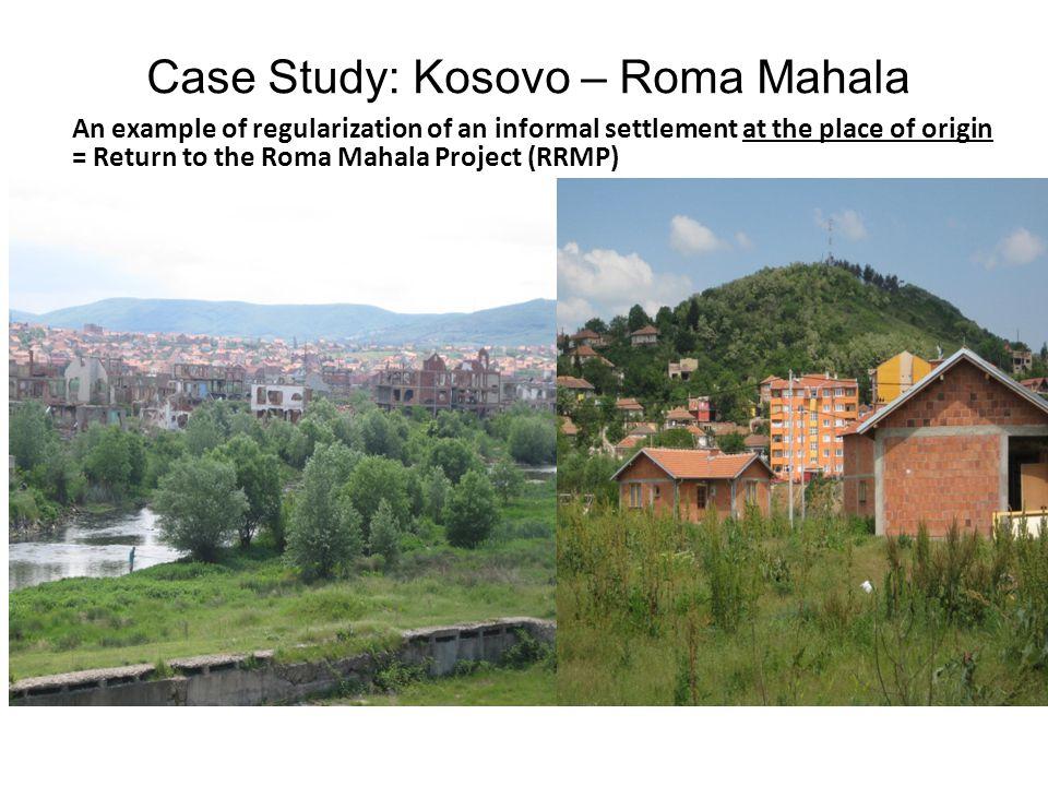 Case Study: Kosovo – Roma Mahala