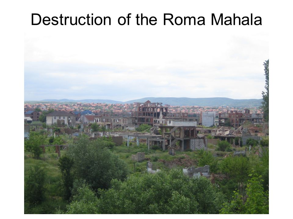 Destruction of the Roma Mahala
