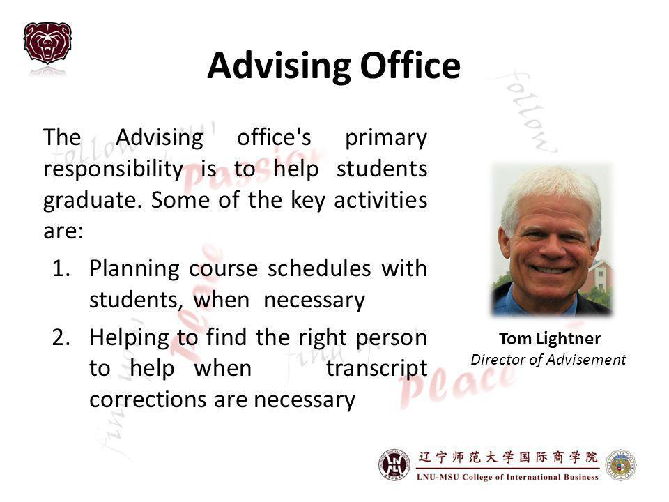 Director of Advisement