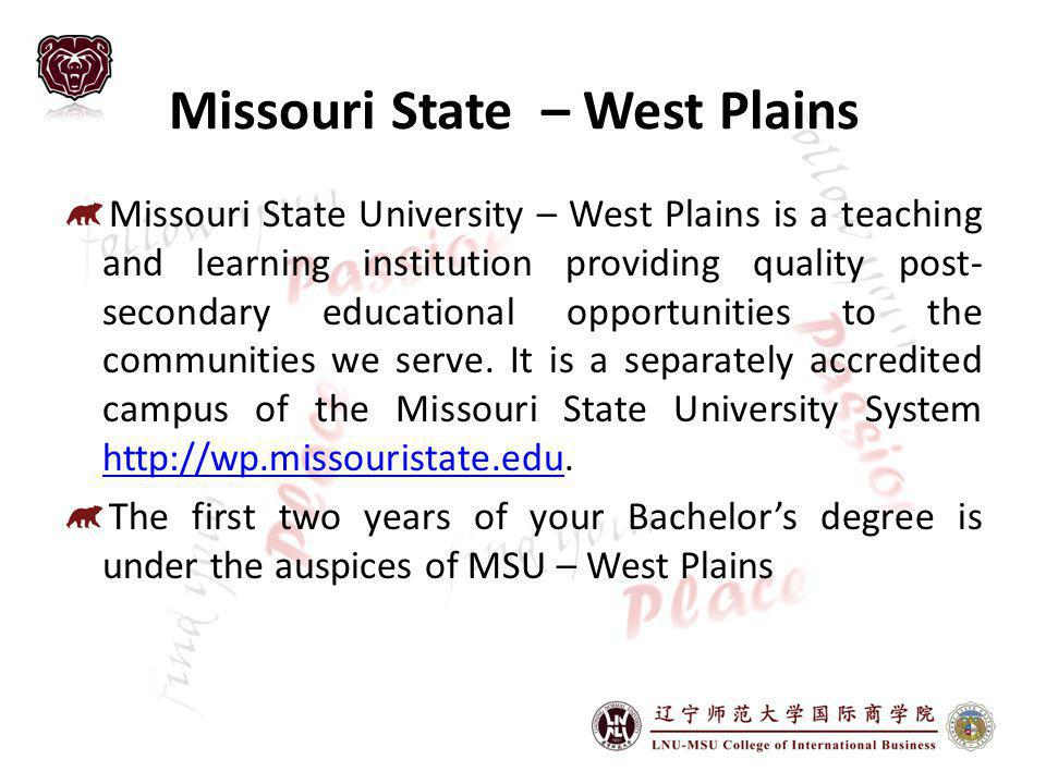 Missouri State – West Plains