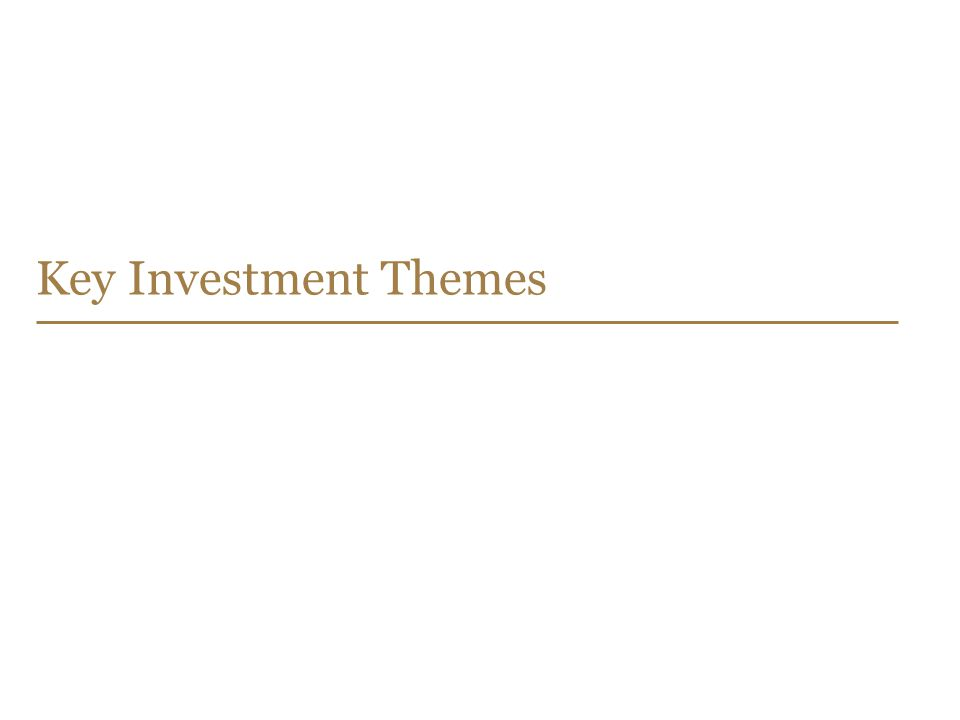 Key Investment Themes
