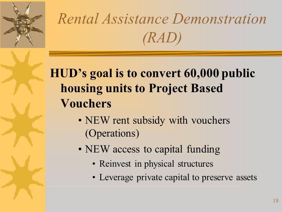 Rental Assistance Demonstration (RAD)