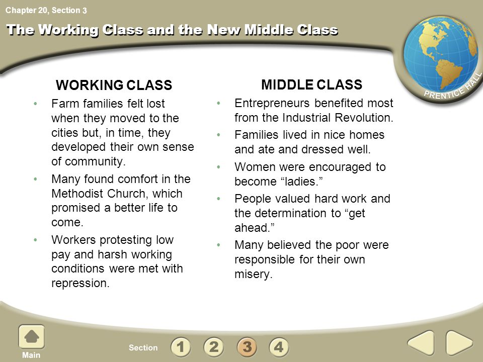 The Working Class and the New Middle Class