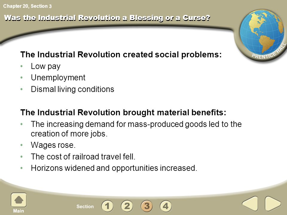 Was the Industrial Revolution a Blessing or a Curse