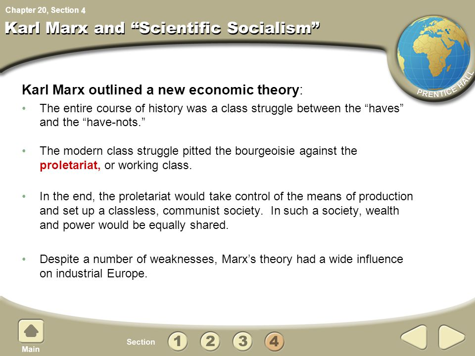 Karl Marx and Scientific Socialism