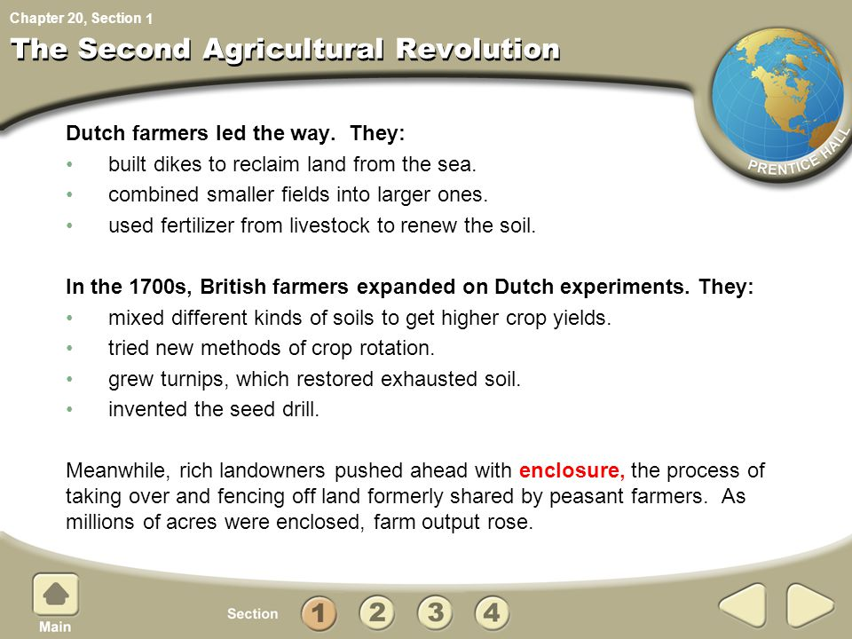 The Second Agricultural Revolution