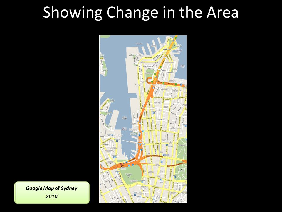 Showing Change in the Area