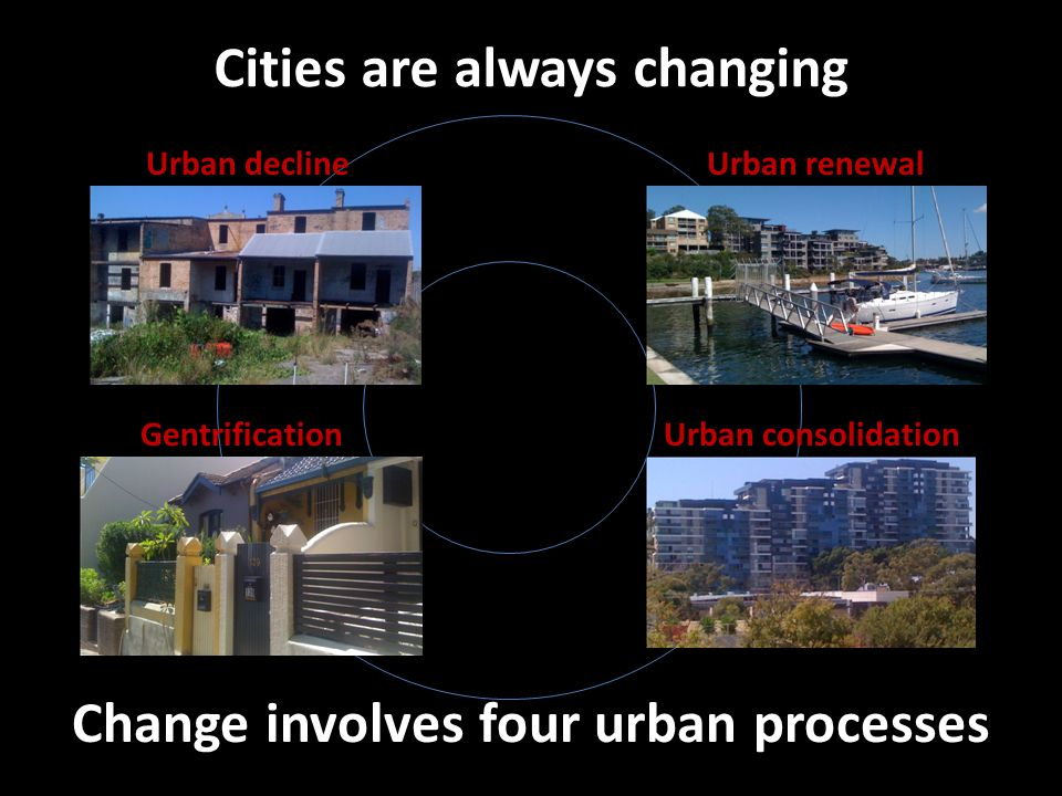Cities are always changing