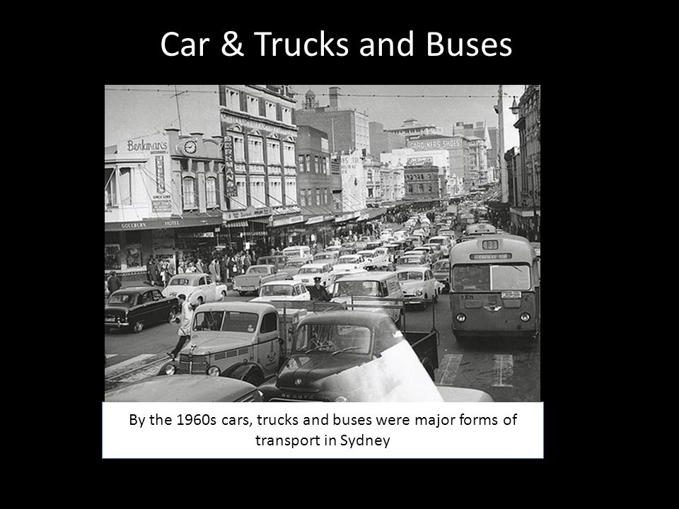 Car & Trucks and Buses