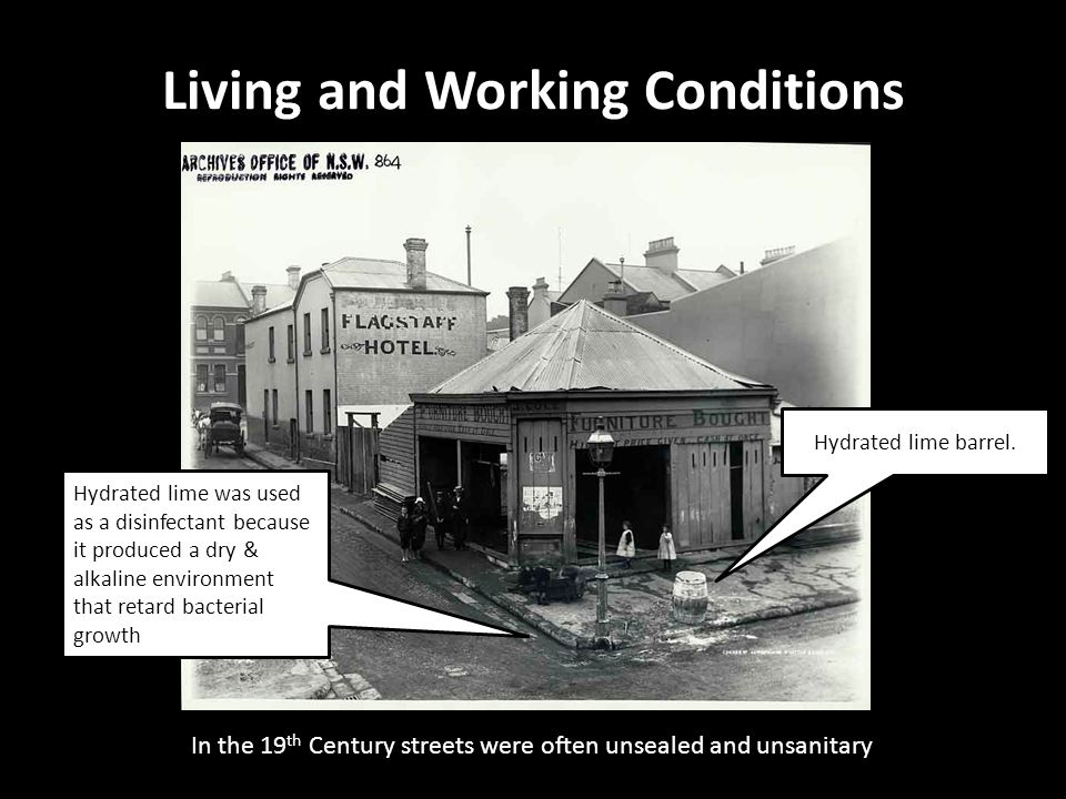 Living and Working Conditions